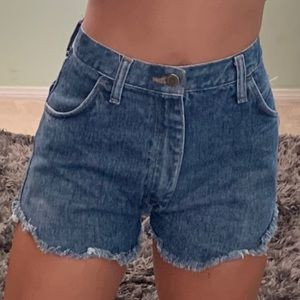 NEW urban outfitters high waisted denim shorts